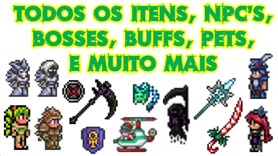 Terraria Character, Terraria Itens, FCM, mod, Cheat, Hack, Indie, Pixel Art, Re-Logic, Brasil, Dica, Criativo, Modo Criativo