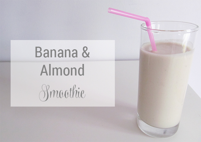 Banana & Almond Smoothie Recipe
