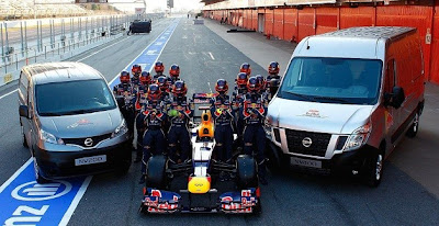 Nissan gets on board the Red Bull F1 bandwagon