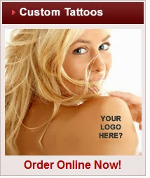 Personalized Temporary Tattoos