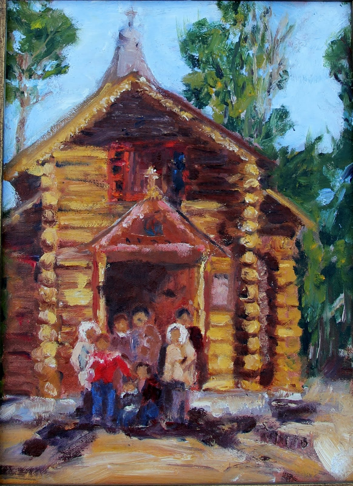 rosi 39 s art oil painting at home