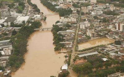 Brasil: Chega a 15 número de mortos em consequência das chuvas em Minas Gerais