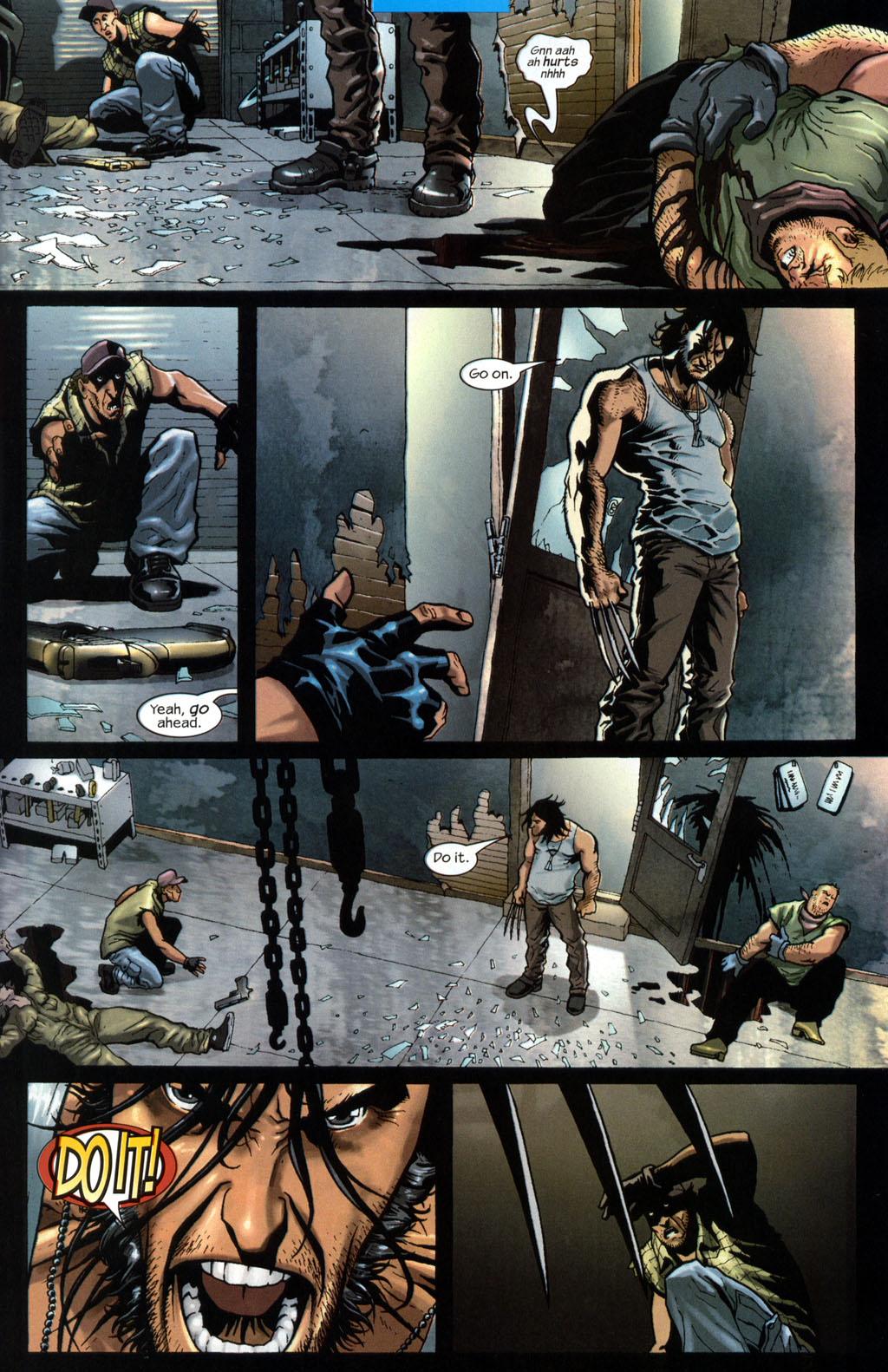 Read online Wolverine (2003) comic -  Issue #7 - 6
