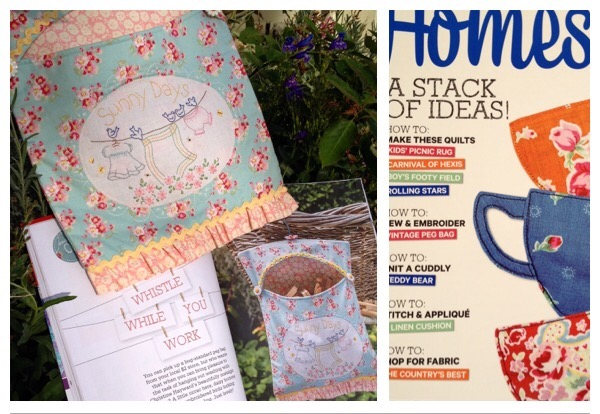 Excited to be published in Homespun
