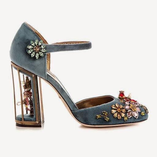 Sepatu Heels Pesta Dolce & Gabbana
