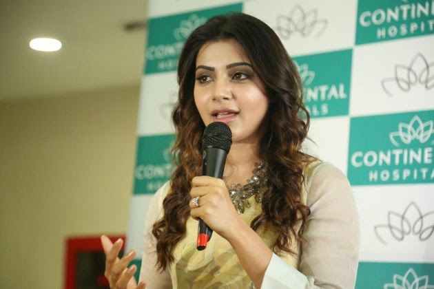 Samantha At Hepatitis B Vaccination Camp Photos