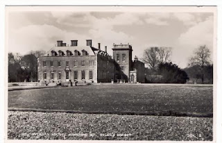 Vintage postcard of St. Giles' House, Wimborne St. Giles, Dorset