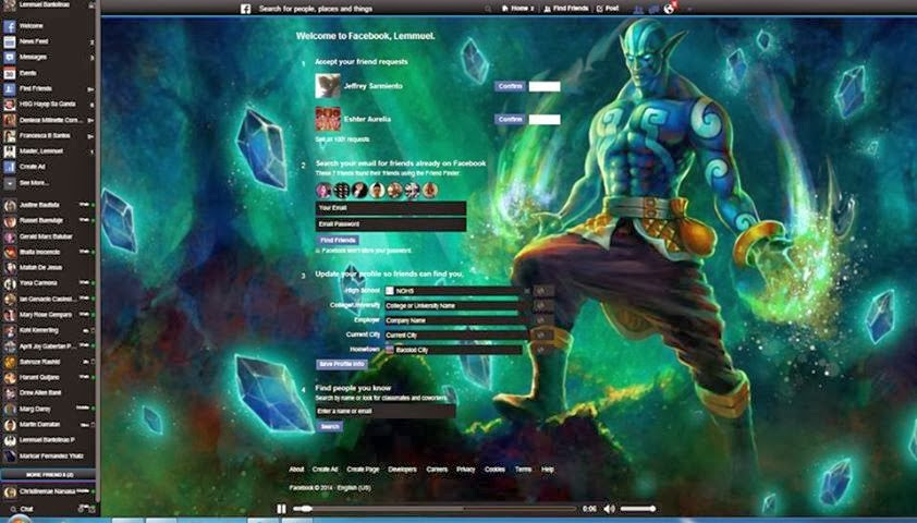 your cyber helper dota 2 themes facebook