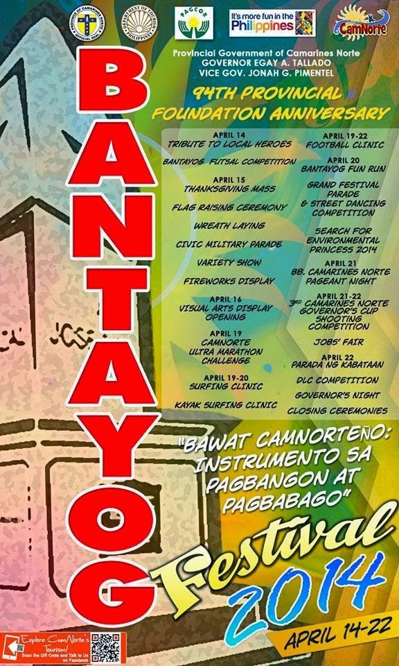 Bantayog Festival activities
