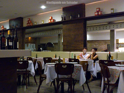 Pizzaria Bagdio: Ambiente interno
