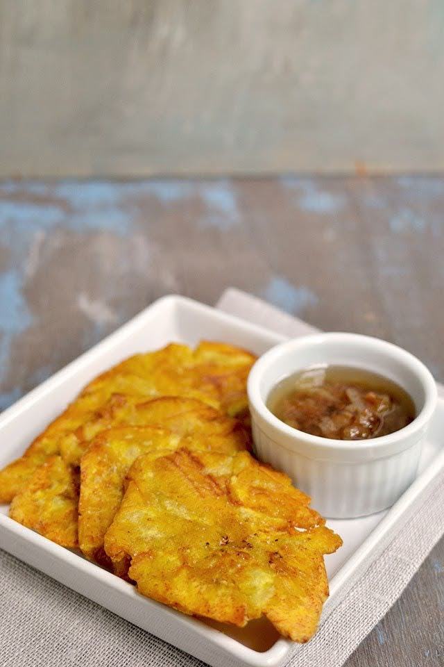 Fried Raw Green Plantains