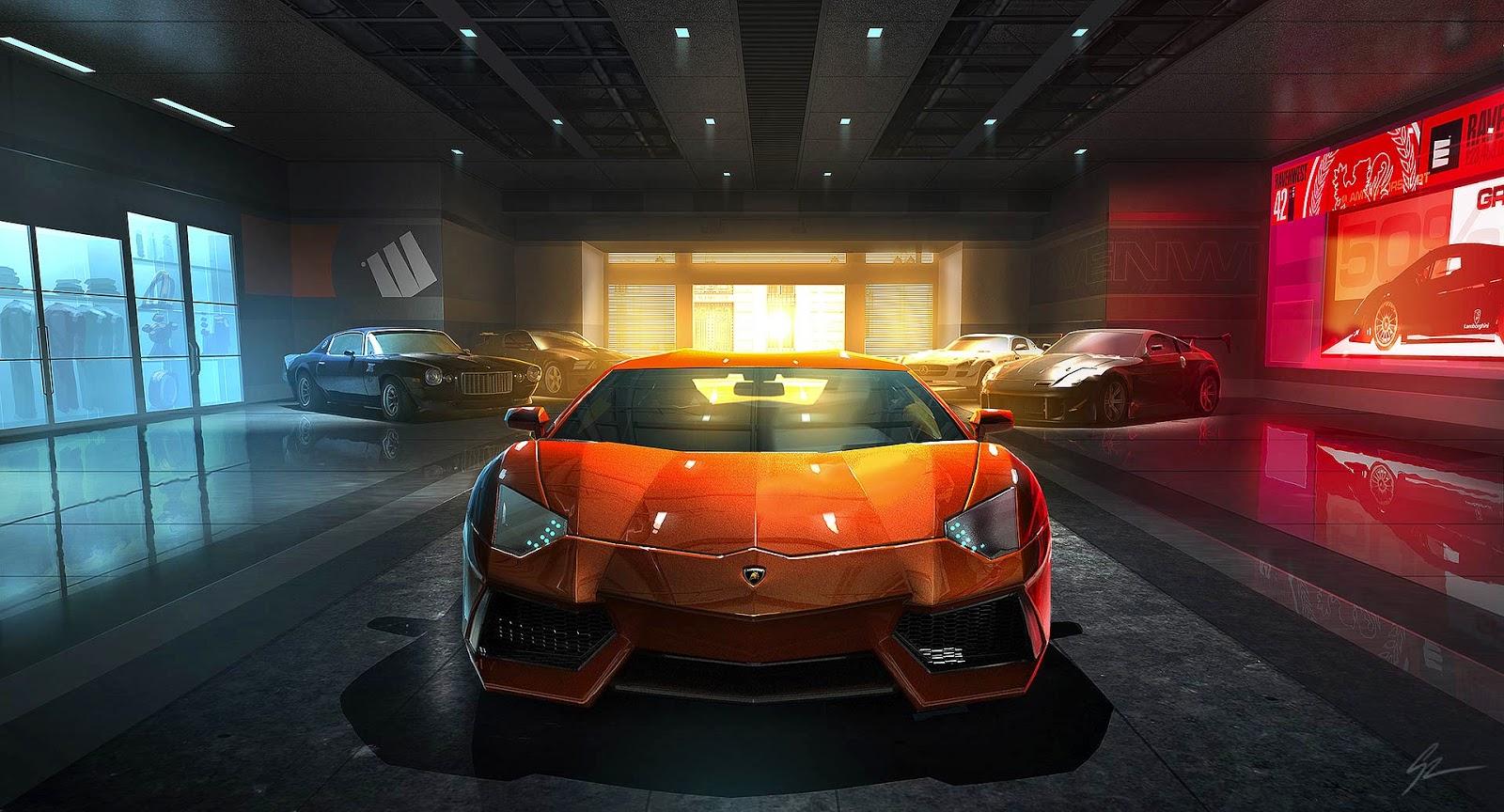 Papel de Parede Carro Esportivo Lamborghini para pc 3d hd grátis Sports car desktop hd wallpaper image free