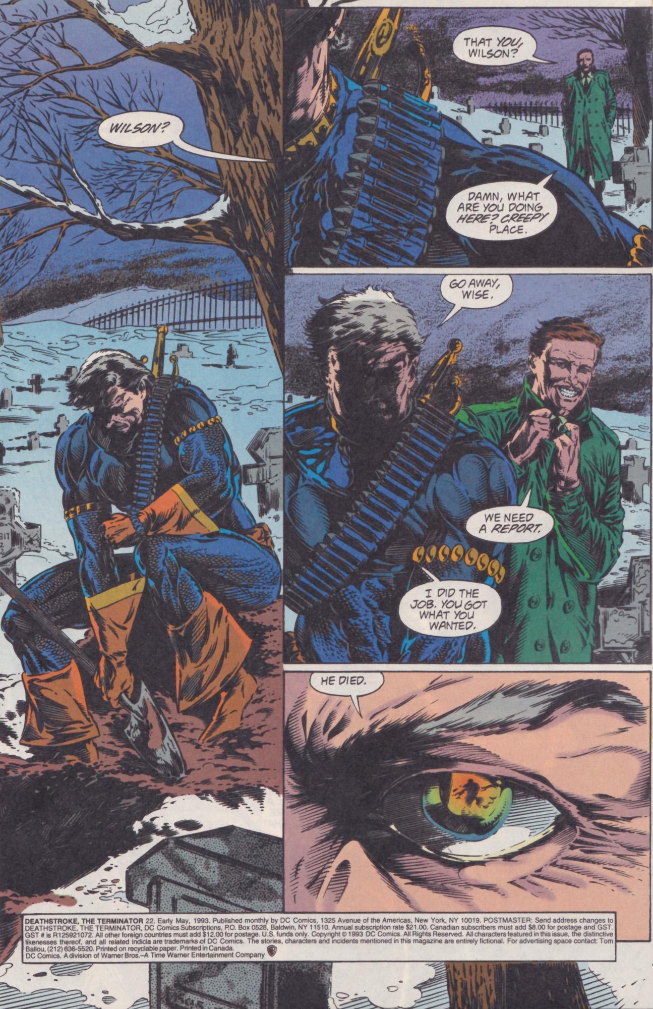 Deathstroke (1991) Issue #22 #27 - English 2