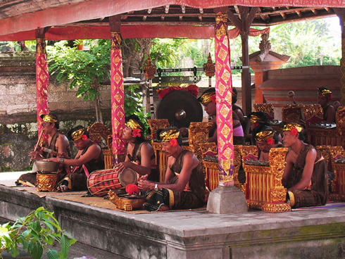 Barong Music Instrument Bali Traditional Dance