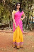 kruthika jayakumar half saree stills-thumbnail-10