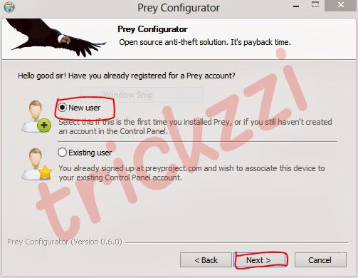 How to create a New prey Account to trace lost Laptop-trickzzi