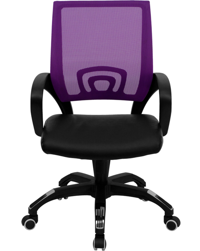 Flash Furniture Purple Mesh Chair