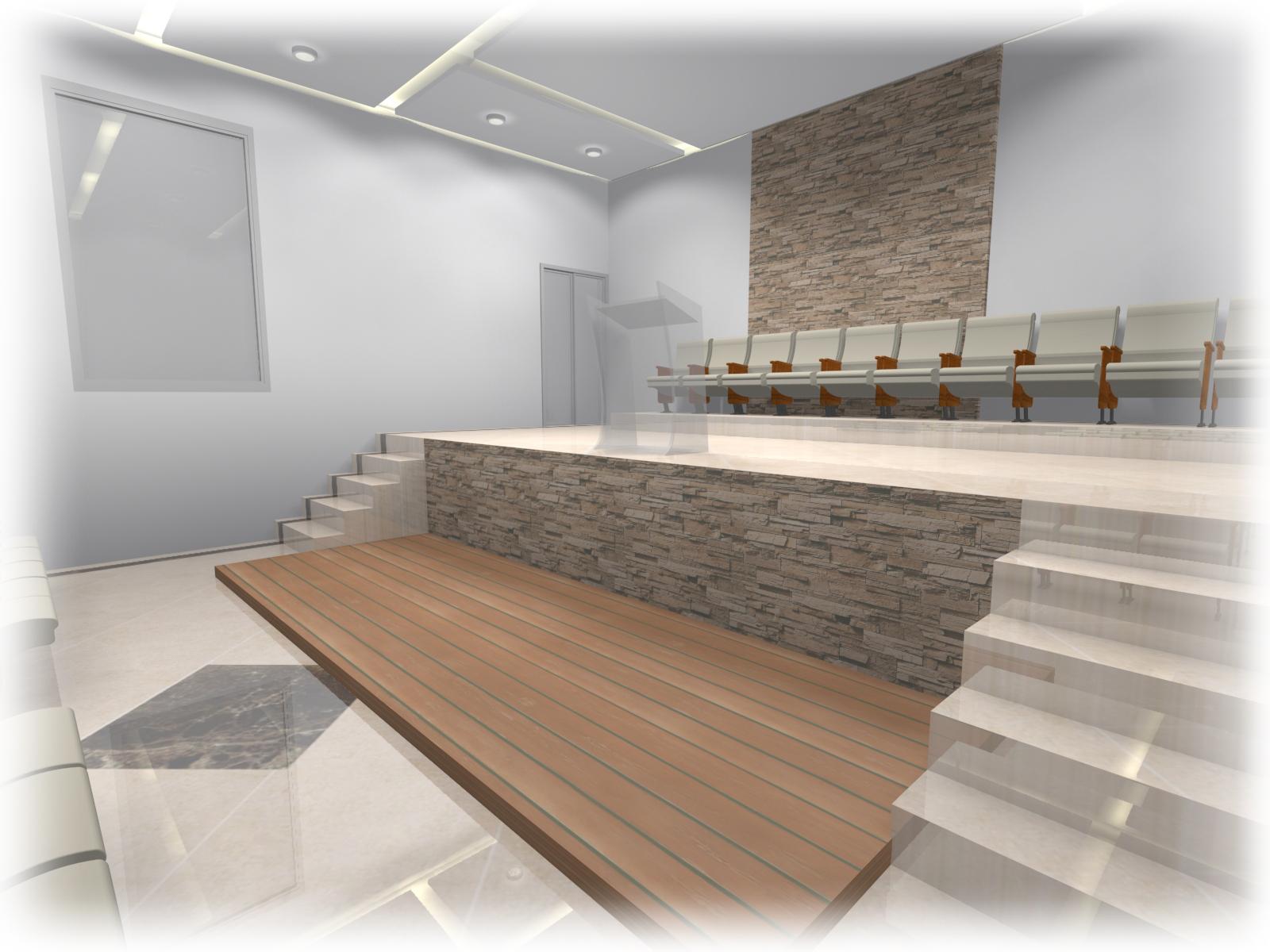 paulo fachada vista para o altar vista para o mezanino #5D4C3C 1600 1200