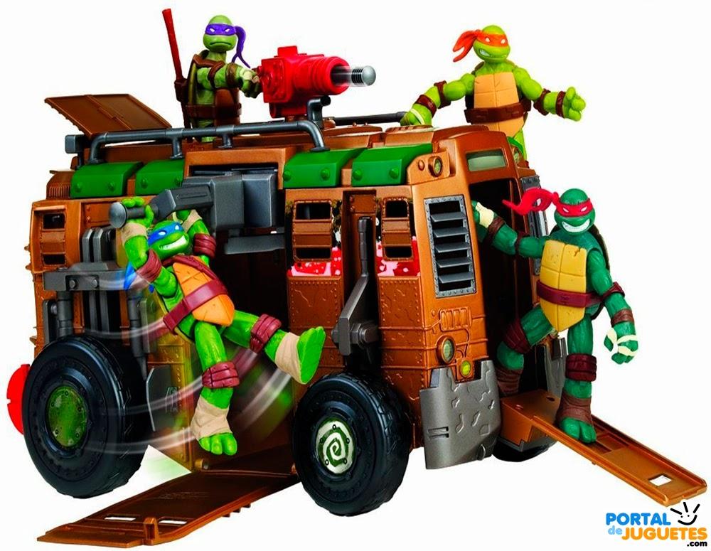 autocaravana shell raiser tortugas ninja