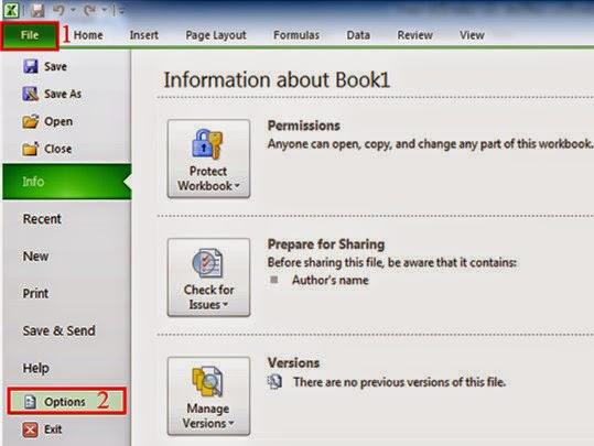 File Excel bị lỗi - Nguyên nhân và cách khắc phục