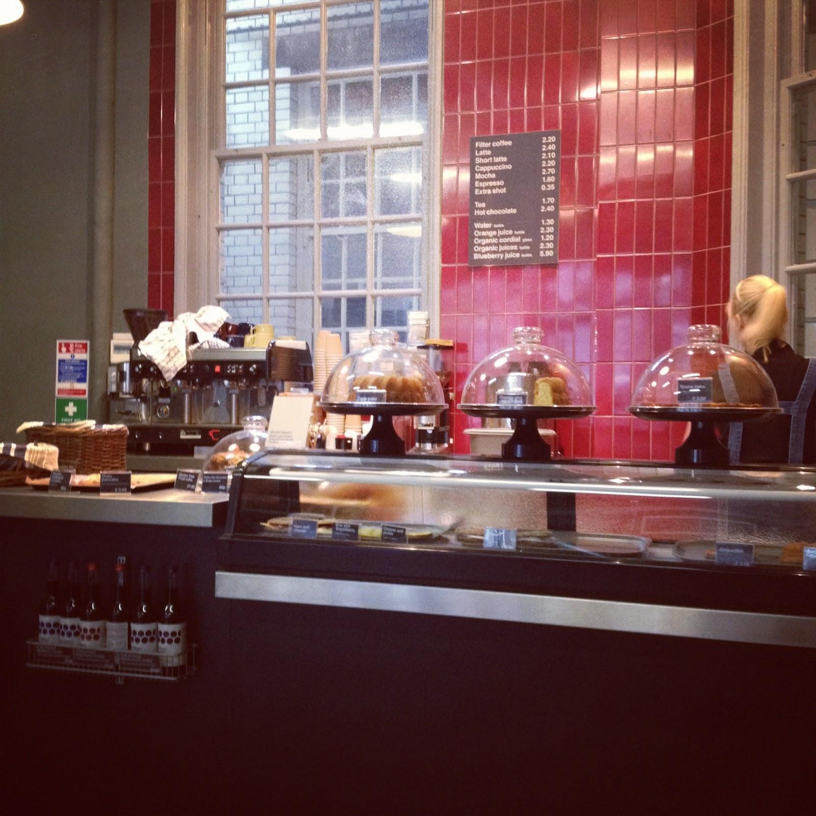 Nordic Bakery, New Cavendish St, Marylebone... Oozes