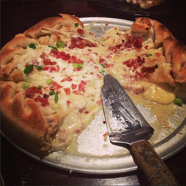 Gambino's stuffed pizza in Moscow Idaho