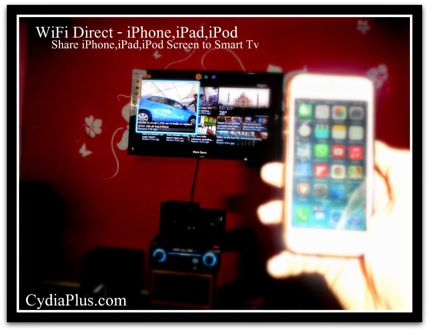 how to put iphone screen on tv