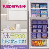 Tupperware Promo My Fresh Inspiration
