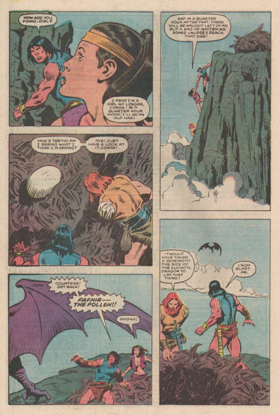 Conan the Barbarian (1970) Issue #167 #179 - English 18