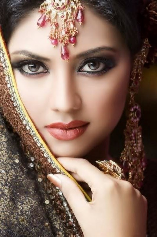 Applying Wedding Makeup Suggestions : She247: Bridal Makeup Ideas For Girls 2014