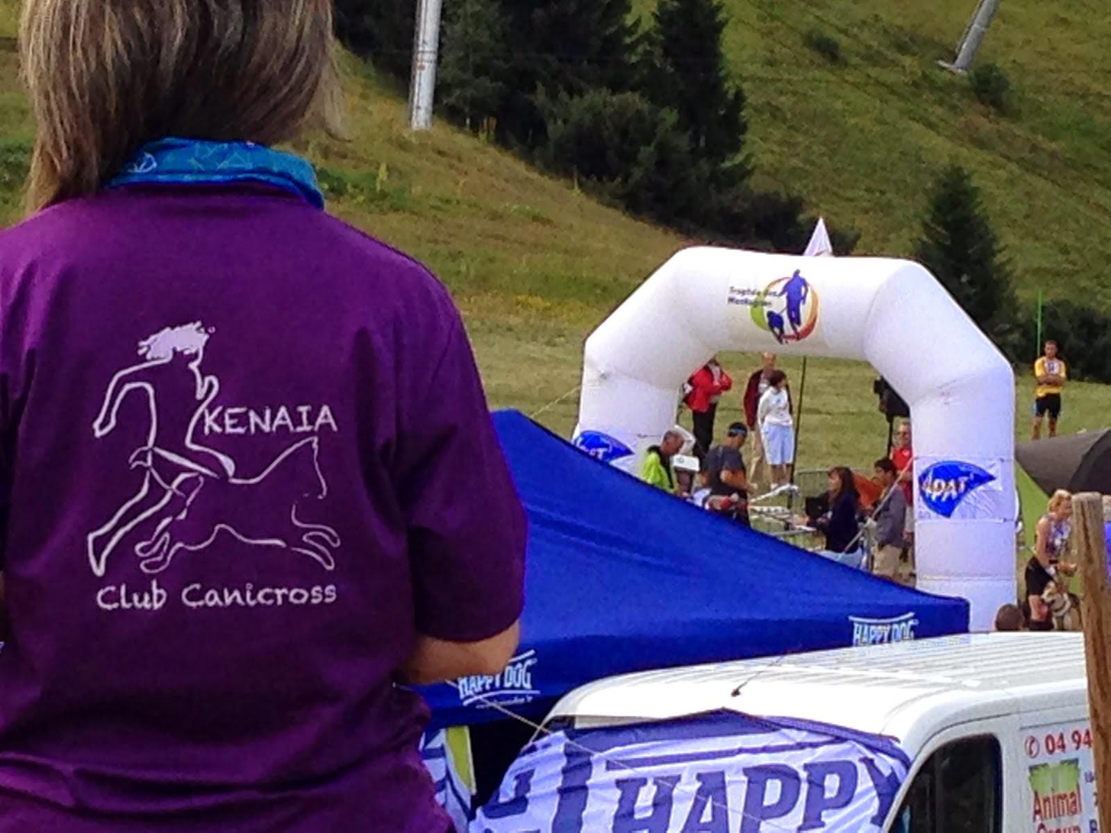 TROPHÉE DES MONTAGNES 2014 - La competición más dura del canicross en los Alpes Franceses