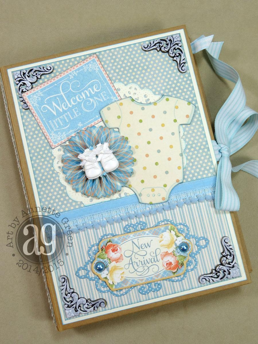 Baby Photobook Cover Ideas : Annette s creative journey precious memories baby album