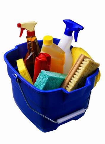 Cuidado con los desinfectantes y los suavizantes