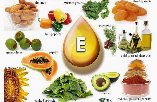 Khasiat dan Manfaat Vitamin E Untuk Kesehatan