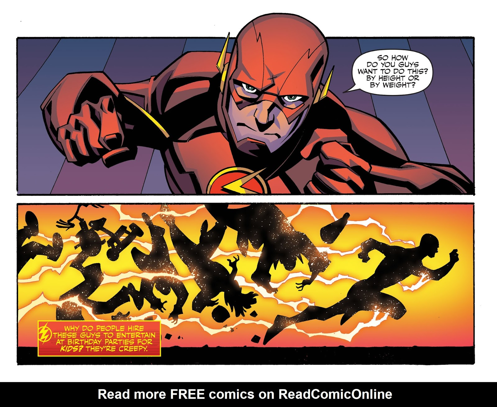 The Flash: Season Zero [I] Issue #4 #4 - English 9
