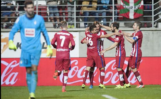 Eibar 0 x 2 Atlético de Madrid - Campeonato Espanhol(La Liga) 2015/16