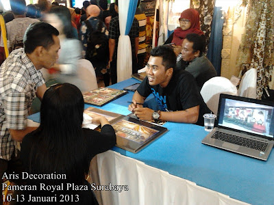 pameran aris decoration di royal plaza surabaya