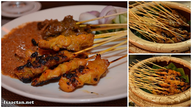 The staple of any Ramadhan buffet, and also my favourite dish, Satays all around!