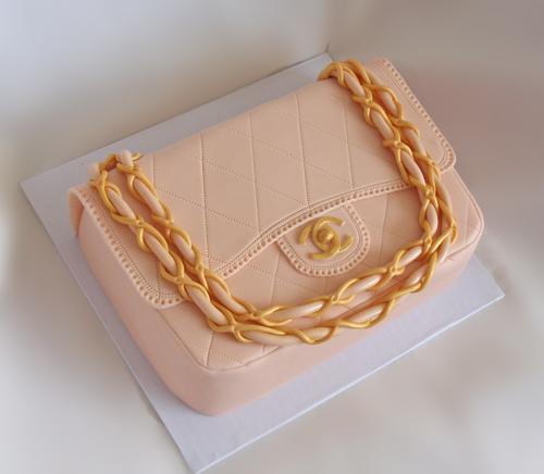 Фото тортов сумочек