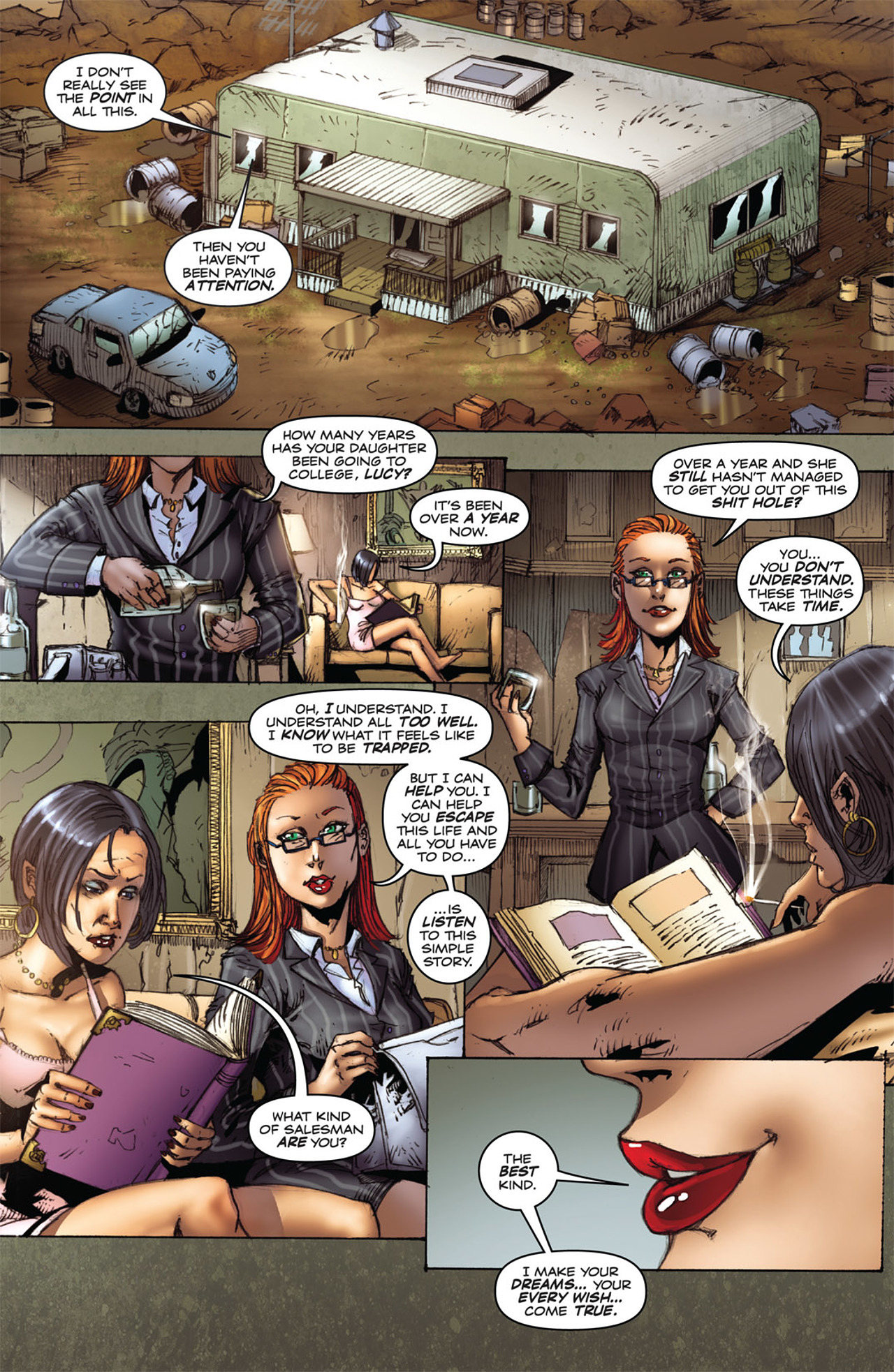 Grimm Fairy Tales (2005) Issue #25 #28 - English 8