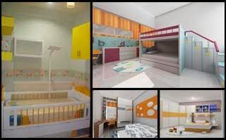 Setting Interior Kamar Tidur Utama