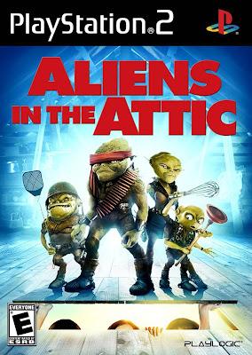 Alieni in soffitta PS2
