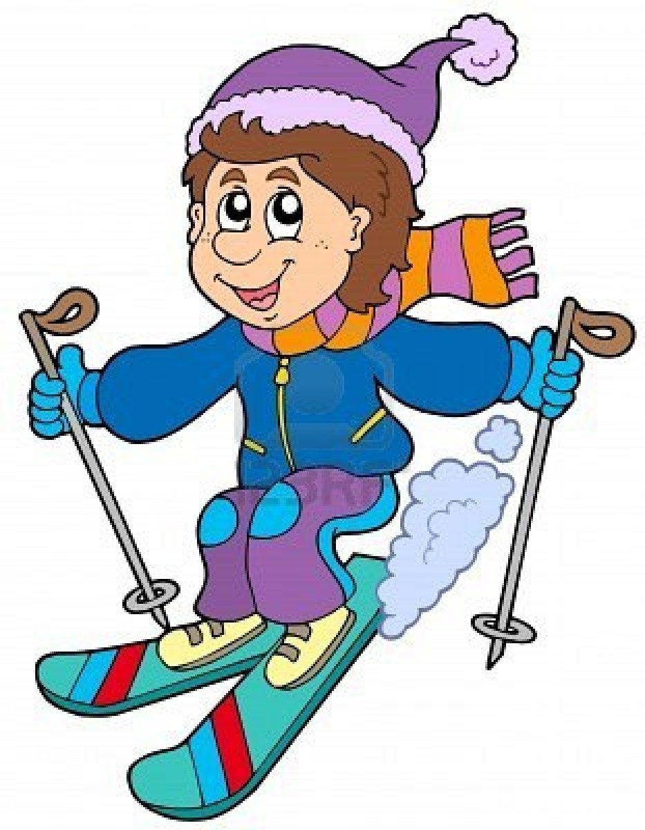 Skiing Cartoon