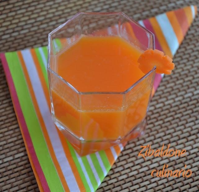 succo di carota con bimby per un'abbronzatura speciale