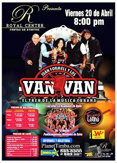 ► Los Van Van De Cuba En Bogotá