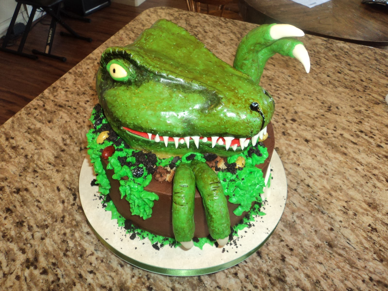 Birthday Cake Designs For 4 Year Old Boy : Delectable Cakes: T-Rex Birthday Cake