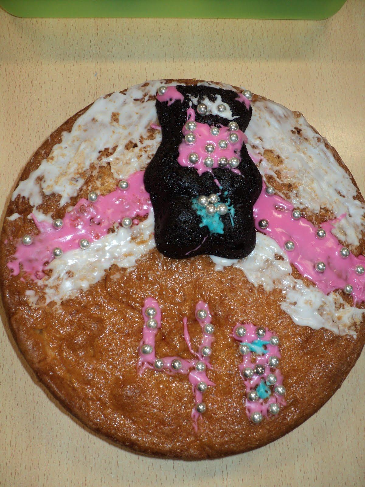 In 4b bakken ze zomaar even een taart om te trakteren!