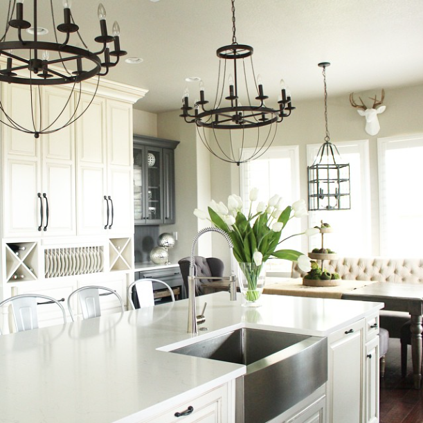 20 Gorgeous Real Life Kitchens | The House of Silver Lining