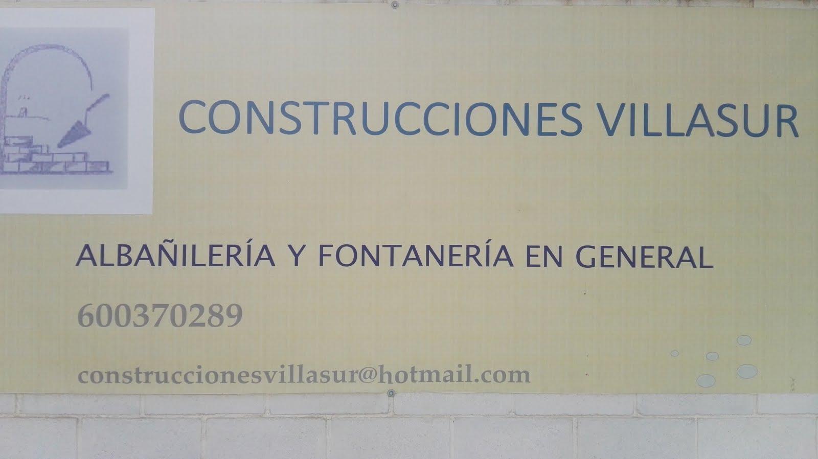 CONSTRUCCIONES VILLASUR