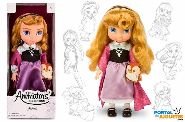 muñeca aurora coleccion animators